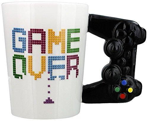 """Taza Original gamer """"Game Over"""" mando de consola"""
