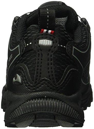 Viking Anaconda Boa Iv Jr, Chaussures Multisport Outdoor Mixte Enfant Noir - Schwarz (Black/Silver 246)