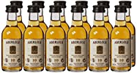 Aberlour 10 Year Old Single Malt Whisky Miniatures, 12 x 5 cl