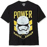Star Wars Stormtrooper Power T-Shirt, Black, Large