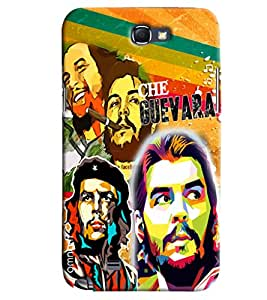 Omnam Guevara Collage Printed Designer Back Cover Case For Samsung Galaxy Note 2