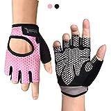 Fitself Fitness Handschuhe Herren Damen Atmungsaktive Gewichtheben Trainingshandschuhe für Gym Krafttraining Bodybuilding Workout Radfahren
