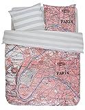 Covers & Co Bettwäsche Paris citymap   multi - 135 x 200 cm