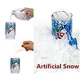 , Hunpta Instant de neige artificielle de Noël Magic Snow Poudre réutilisable artificielle Décoration de Noël aléatoire