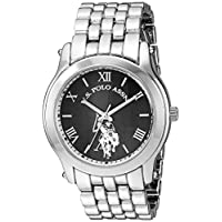 U.S. Polo Assn. Women's Analog Quartz Watch with Alloy Strap, Silver, 20 (Model: USC40161AZ)
