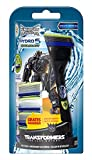 Wilkinson Sword Hydro 5 Power Select Vorteilspack Transformers Edition, mit 4 Rasierklingen und Rasierer, 1 St