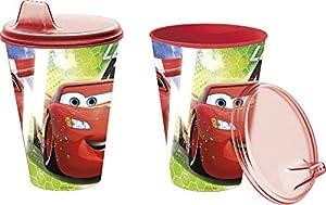 Cars- Vaso con Tapa y Sipper 430 ml (STOR 22784)