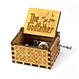 #3: Pi² The Godfather Music Box Mechanism Wooden Music Box
