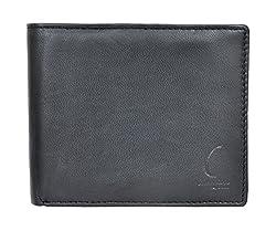Chandair Pure Leather Black Mens Wallet (KL-CH-09)