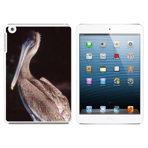 Pelican–Bird Snap On Hard Schutzhülle für Apple iPad Mini 1. Generation–Weiß