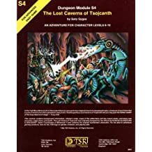 The Lost Caverns of Tsojcanth (Advanced Dungeons & Dragons Module S4)