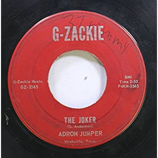 Adron Jumper 45 RPM The Joker / If I See You Tomorrow
