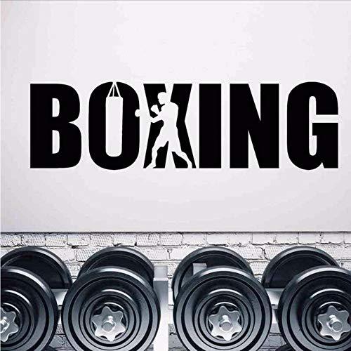 Kuletieas Boxhandschuh Aufkleber Kick Boxer Spielen Auto AufkleberKampf Poster Vinyl Sturm Wandtattoos Dekor 45 * 157 Cm