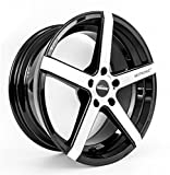 Seitronic® RP6 Alufelge | Concave Design | Machined Face Glossy Black 19 Zoll 8,5J 5x112-ET42-57,1