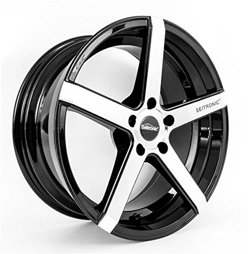 SEITRONIC® RP6 Alufelge | Concave Design | Machined Face Glossy Black 19 Zoll 9,5J 5x112-ET35