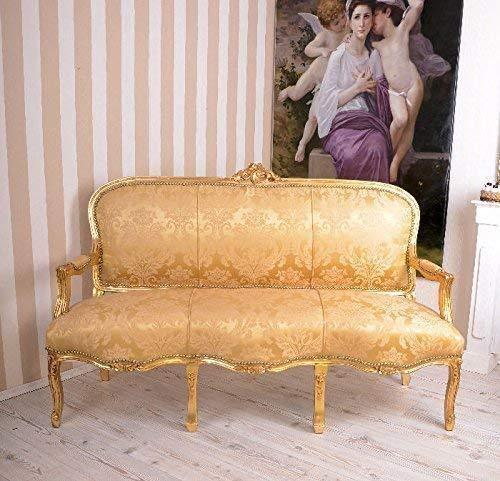 Gigantisches Rokoko Sofa, Diwan, Kanapee, Ottomane, Liege mit königlichem Ambiente im Rokoko-Stil...