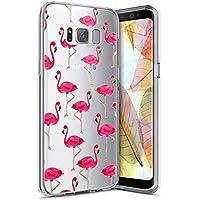 Funda Galaxy S8 Plus ,Funda Silicona Gel Carcasa Ultra Delgado Flexible Tpu Goma Silicona Protector Flexible Cover Case Estuche Protective Caso para Samsung Galaxy S8 Plus ,Flamenco V