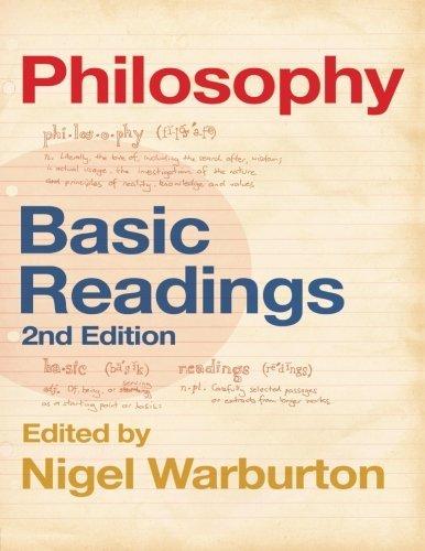 Philosophy: Basic Readings by Nigel Warburton (2004-12-19)