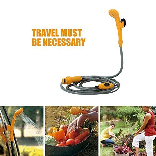 Preisvergleich Produktbild 12V Auto Campingdusche Auto Dusche Outdoor Dusche Kit Reisedusche für Camping Reise