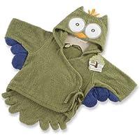 Baby Aspen, My Little Night Owl Hooded Terry Spa Robe,