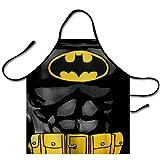 Chiho pour homme et pour femme super-héros Batman Dark Knight Logo Chef de cuisine Tablier