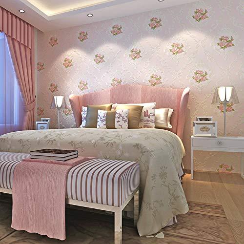 Zhoukeyu carta da parati moderna minimalista elegante in puro colore carta da parati non tessuta cinese cameretta per bambini ragazzo ragazza camera da letto casa @a571