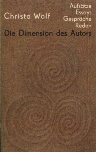 Die Dimension des Autors. Aufsätze, Essays, Gespräche, Reden 1959-1985, 2 Bände