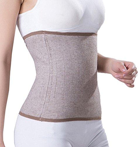 Faja abdominal médica unisex, de punto para termoterapia, alivio del dolor por calor, tratamiento en riñones, zona lumbar, estómago, cintura, soporte postparto, recuperación tras cesárea y quirúrgica