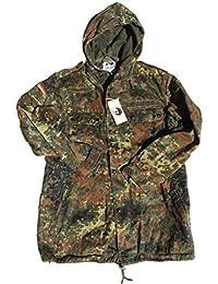 German Army Issue Flecktarn Pattern Unlined Combat Jacket