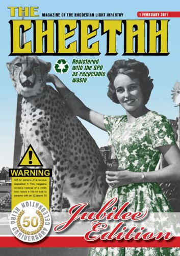 Cheetah: The Rhodesian Light Infantry 50th Anniversary Edition (Rhodesian Light)