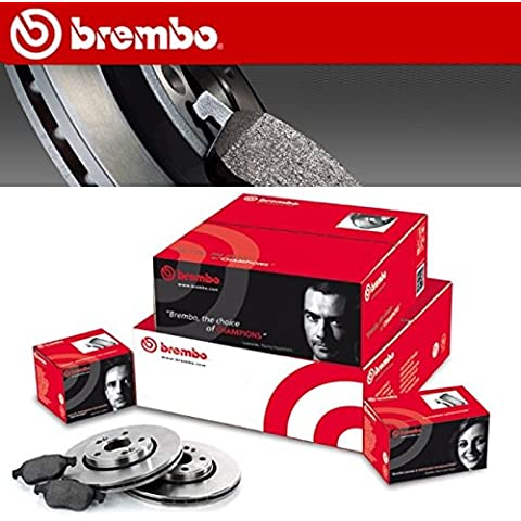 KIT Discos Pastillas de FRENO BREMBO RENAULT 19 II Color Blanco (1,8 16 V 99KW L53_)