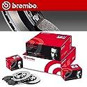 SMC Brembo Kit Bremsscheiben + Bremsbeläge für vorne 09.8695.14+ P61066