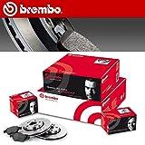 Bremsscheiben und Bremsbeläge Vorne Brembo 09.7012.14 + P85072