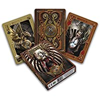 Bicycle - Baraja Anne Stokes Steampunk, cartas de Poker, color marrón (Naipes Heraclio Fournier 1029810)