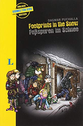 Footprints in the Snow - Fußspuren im Schnee: Krimi für Kids