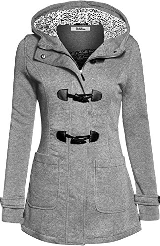 bodilove-womens-cozy-duffle-coat-with-fleece-lining-heather-gray-m-jf2910-heather-gray-outerwear