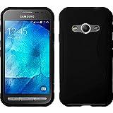 PhoneNatic Samsung Galaxy Xcover 3 Hülle Silikon schwarz