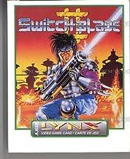 Switchblade II - Lynx [Atari Lynx]