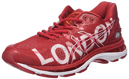 Asics Gel-Nimbus 20 London Marathon, Zapatillas de Running para Hombre, Rojo (London/2018/Red 2323), 43.5 EU