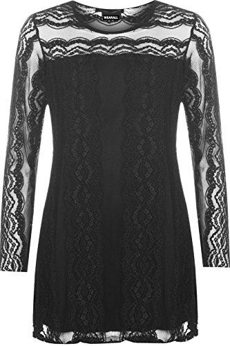 unknown-camisas-cuello-redondo-para-mujer-negro-negro-54-56
