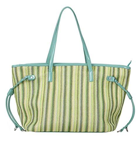 -Tasche L Gr. L, grün (Plastic Beach Tote)
