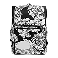 LISNIANY Computer Bag,Seamless Pattern Illustration 4Th July Independence,Large Capacity Backpack,Travel Backpack,Schoolbag