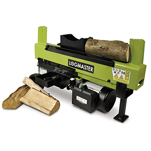 Logmaster High Powered 6 Ton Dual Hydraulic Electric Log Splitter Machine 2 Year Warranty Test