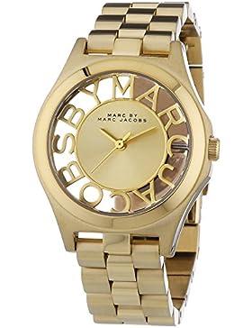 Marc Jacobs Damen-Armbanduhr XS Analog Quarz Edelstahl MBM3292
