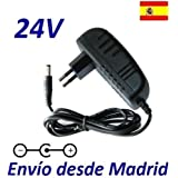 Cargador Corriente 24V Reemplazo Volante Logitech Driving Force GT Refresh Recambio Replacement