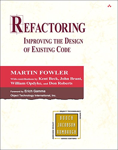 Refactoring: Improving the Design of Existing Code (Object Technology Series) por Martin Fowler