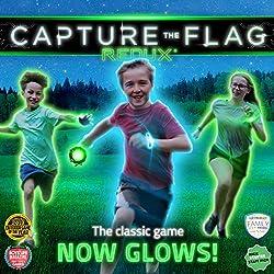 Capture the Flag REDUX: Das originale, im dunkeln leuchtende Outdoorspiel für Geburtstagsfeiern, Jugendgruppen und zum Teambuilding - ein einzigartiges Geschenk für Jungs & Mädchen