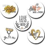 #10: Love Round Pin Button Badge 58mm - Button Badge Shop 58BBS0028