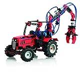 fischertechnik Pneumatic 3 – Aprende física con este divertido juego de construcción con 8 modelos diferentes como el tractor