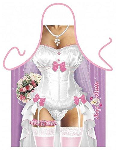ürze = Sexy Braut = Küchenschürze Geschenkschürze Kochschürze Spassschürze - Das witzige Original von ITATI (Lustige Hochzeit)